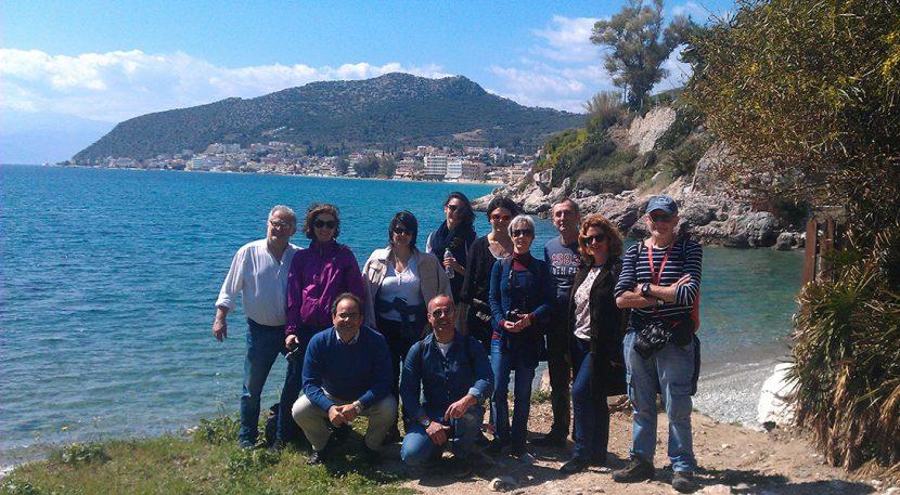 Επισκεψη Ουγγρων δημοσιογραφων στο Τολο
