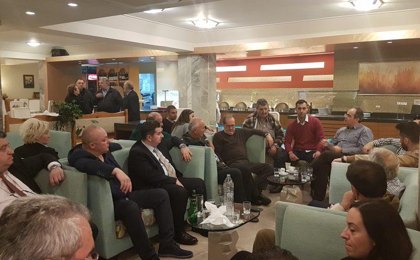 Συναντηση του Σ.Ε.Τ. με τον υποψηφιο περιφερειαρχη Πελοποννησου κ.Νικα