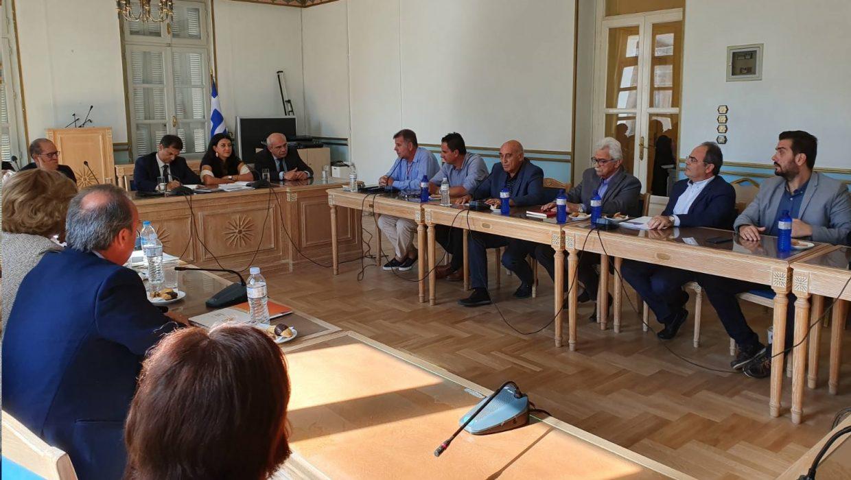 Συναντηση με τον Υπουργο Τουρισμου